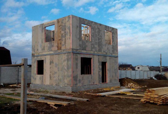 Дом из СИП панелей в Феодосии