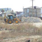 Земляные работы с использованием строительной техники