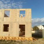 Строим дом из СИП панелей в г. Судаке