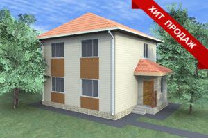 Проект СИП дома в Крыму с ценами