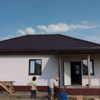 Отделка в доме из СИП панелей в селе Пионерском
