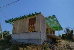 Строительство дома в стиле HI TECH из СИП панелей в Севастополе