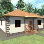 Проект дома из СИП панелей в Крыму