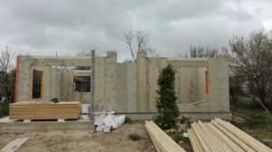 Строительство каркасных домов из СИП панелей