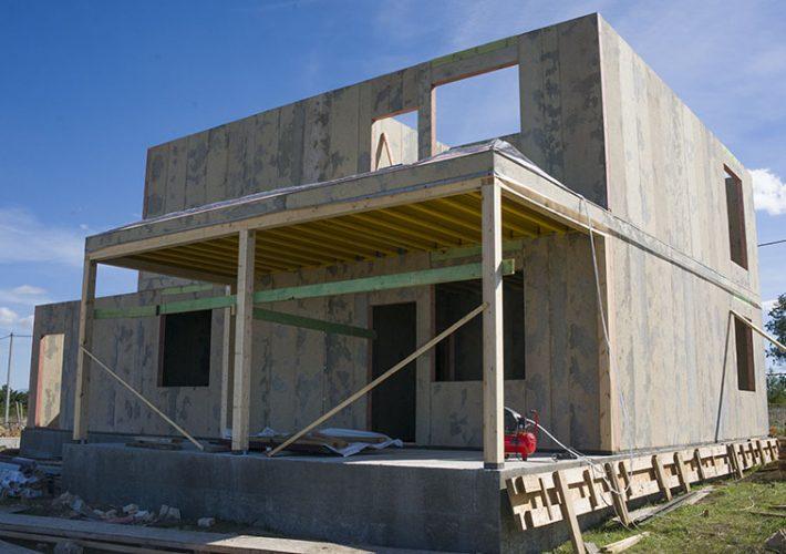 Дом из СИП панелей в Севастополе