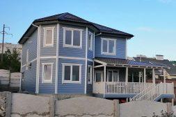 Построенный СИП дом в Севастополе