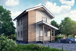 Дом из СИП панелей, прект и цены