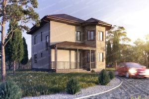 Проект СИП дома с фото