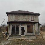 Дом из СИП панелей в Евпатории построен