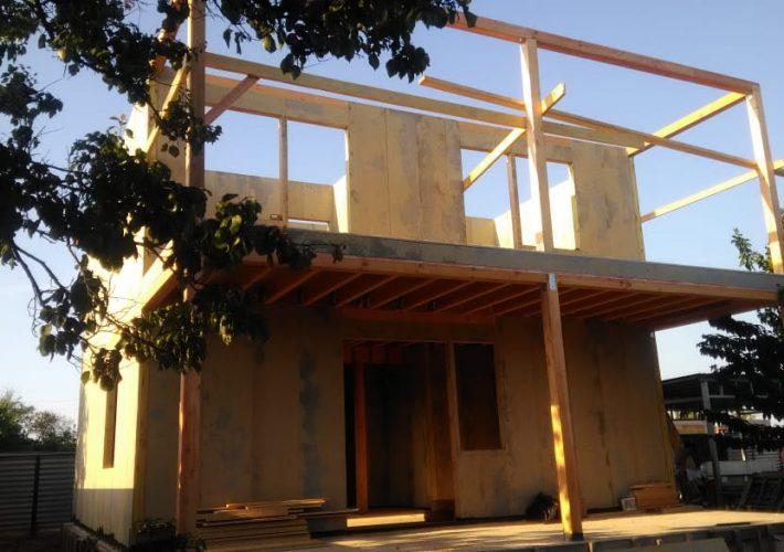 Дом из СИП панелей в Керчи