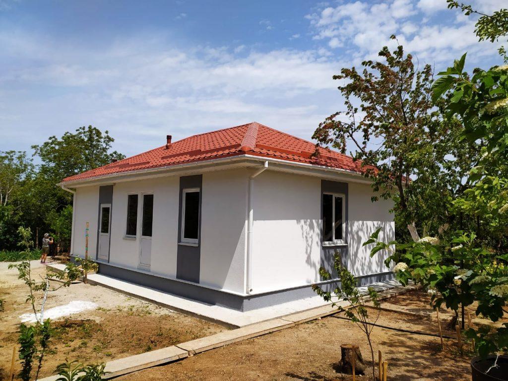 построенный в Крыму СИП дом