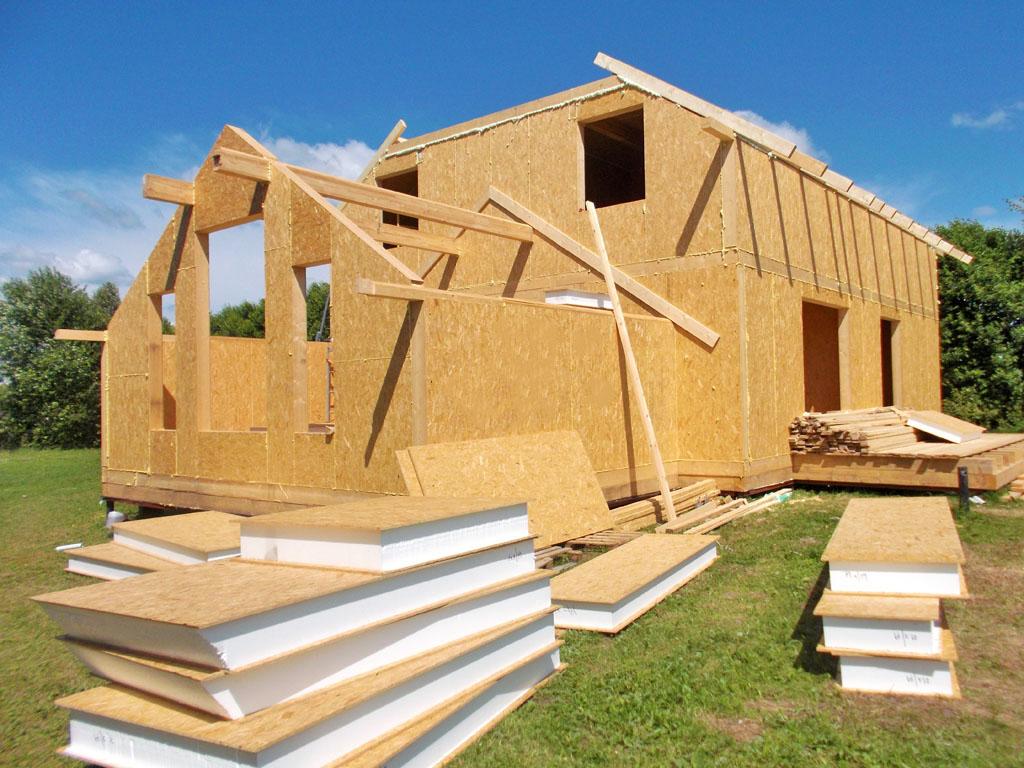 Домокомплекты для домов из СИП панелей