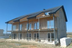 строительство гостиницы в Оленевке