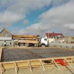 Армирование плиты фундамента СИП дома