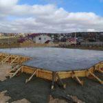 Заливка фундамента под СИП дом в Крыму