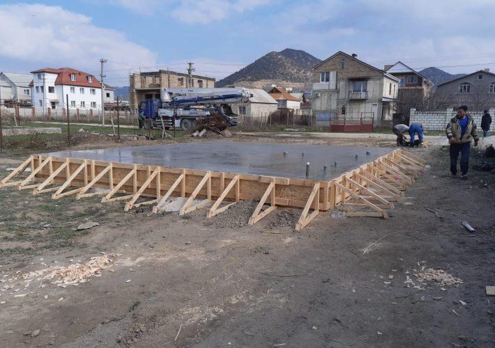 Устройство фундамента СИП дома в Судаке