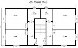 ГнК-03 план второго этажа