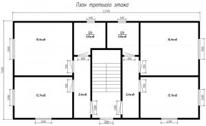ГнК-03 план третьего этажа
