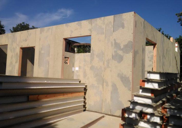 Дом из СИП панелей в Симферополе
