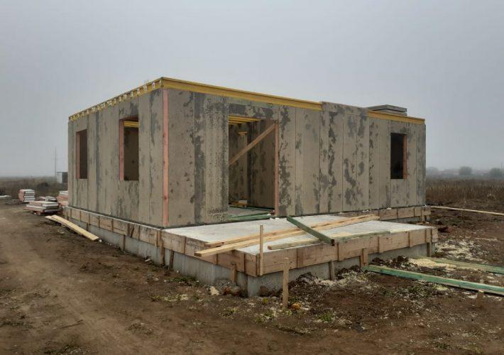 Каркасный дом в Евпатории
