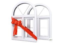 Акция! Окна в подарок!