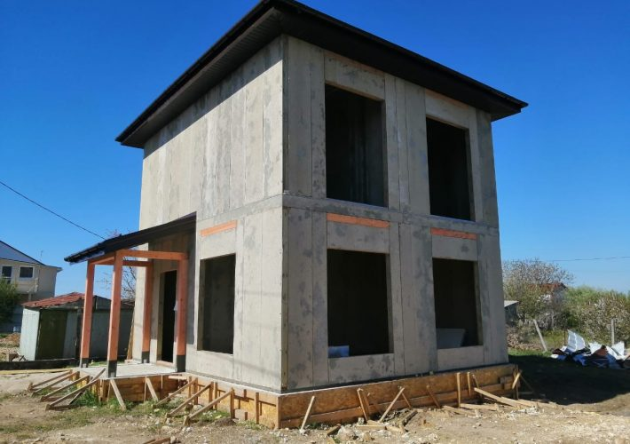 СИП дом в Севастополе по проекту ДнК-05