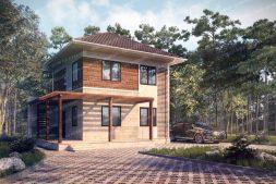 Дом из СИП панелей в Судаке